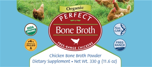 Perfect Bone Broth front label